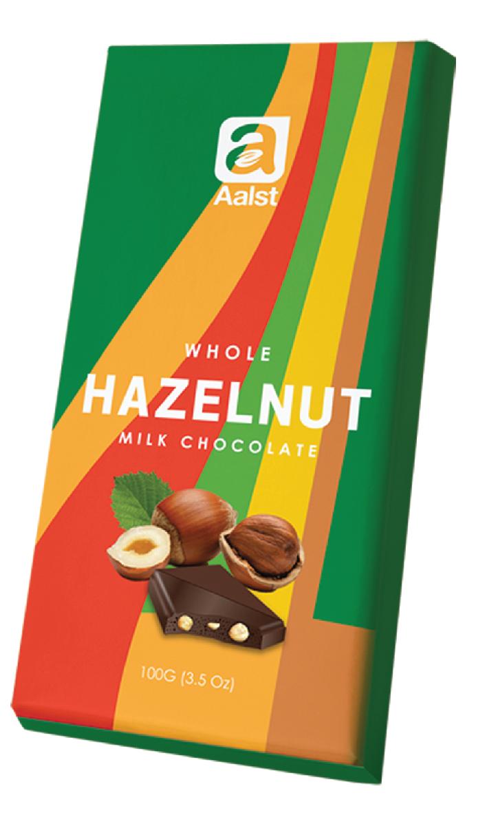 Aalst Whole Hazelnut Milk Chocolate