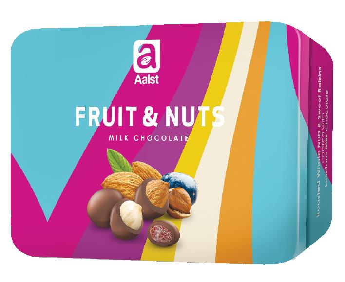 Aalst Friult & Nuts Milk Chocolate